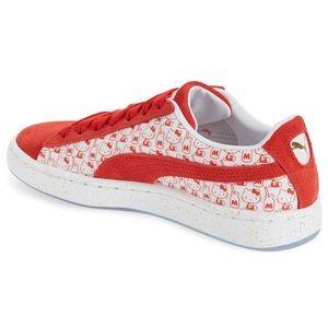 PUMA x HELLO KITTY Suede Sneaker